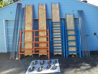 Scaffolding Re-conditioned Lot 5 Frames 30 Frames- Braces Walk-decks Vgc