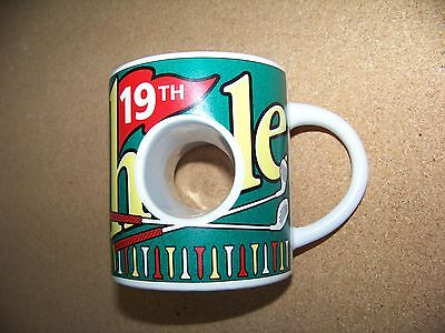 - 19th Hole golf mug look through ceramic coffee cup