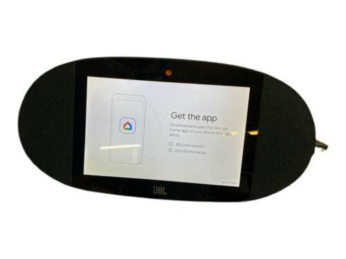 """JBL Link View 8"""" Wi-Fi Smart Google Assistant Speaker Tablet With App - Black"""