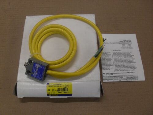 Square D 9007MS01S0200 Compact Enclosed Limit Switch Series B