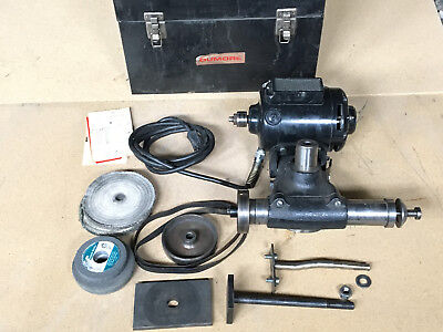 Dumore 57-011 Lathe Tool Post Grinder 34 Hp W 5x-350-0064 External Spindle
