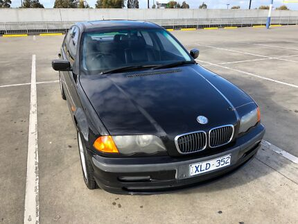 1999 BMW 318i E46 Black Manual sedan