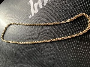 10 k gold rope chain