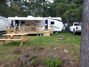 Jayco Trailer and permanent camp site package