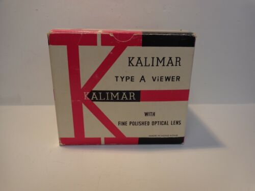 Vintage Kalimar Type A Slide Viewer with Box