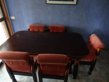Dining Table 7 Piece Timber