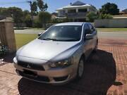 2011 Mitsubishi Lancer SX Silver 5 Speed Manual Sedan Inglewood Stirling Area Preview