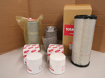 Yanmar Vio27-3 Oem Filter Kit