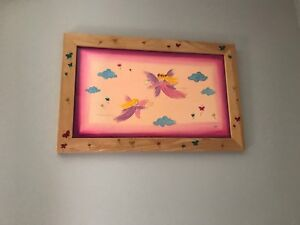 Picture frame for kids room