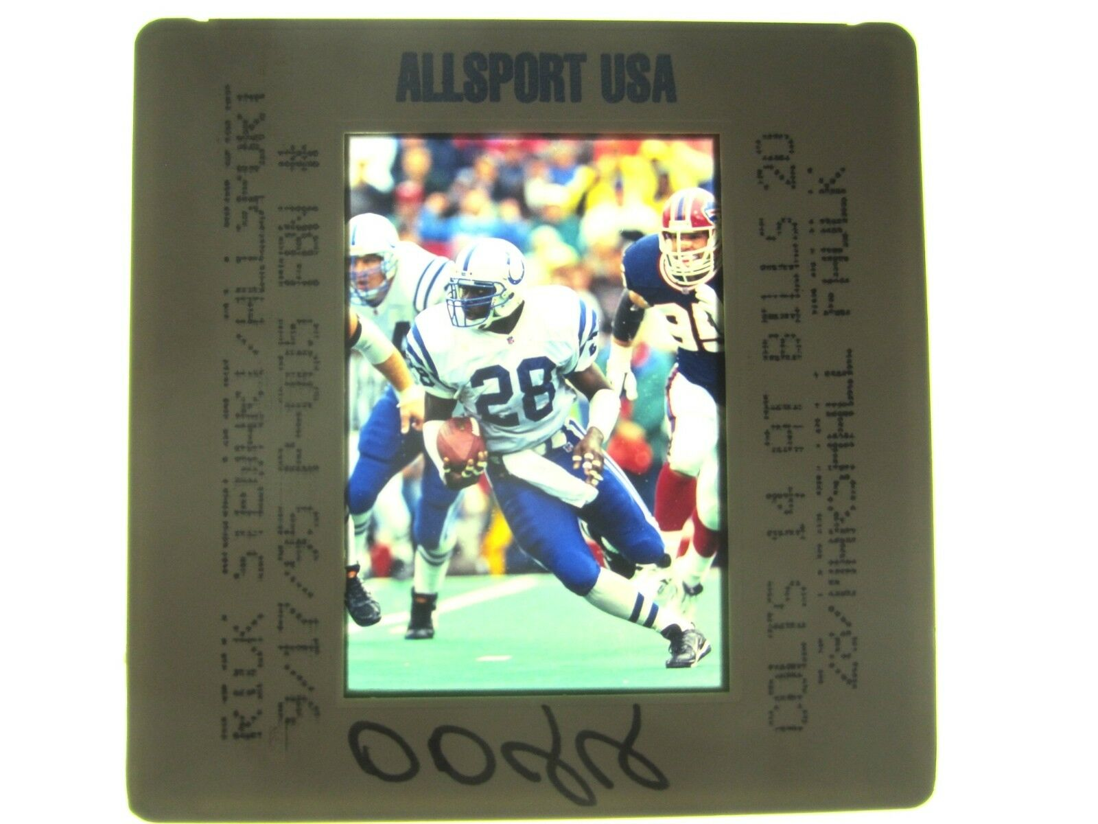 MARSHALL FAULK IN ACTION - 1995