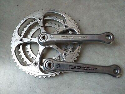 Vintage Stronglight Chainset Dust Caps Crank Crankset Retro Road Bike 49D Eroica