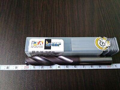 Iscar Vhm Scd 120-040-120 Ap3 Ic908 1 Pcs Solid Carbide Drill