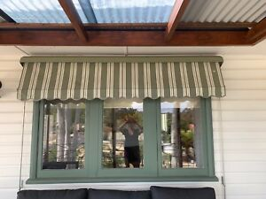 canvas window awnings external canvas window awnings curtains blinds gumtree australia