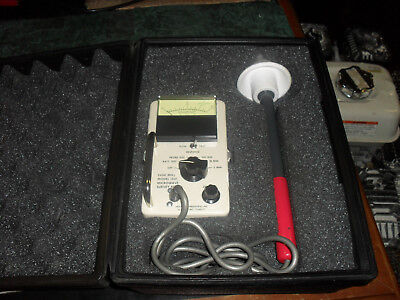 Holaday 1501 2450mhz Microwave Survey Meter Wprobe