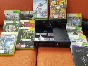 X Box 360 with Kinect + 13 Games Parap Darwin City Preview