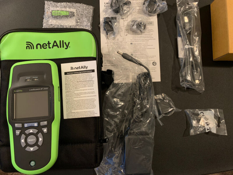 NetAlly Link Runner AT 2000 LRAT Network Connectivity Auto Tester NEW