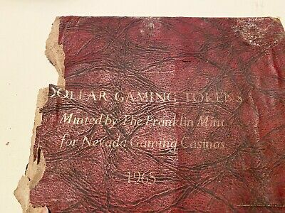 Franklin Mint 1965 Gaming Tokens Pure .999 Silver Proof Set - 27 Tokens.