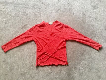ARK Clothing wool/polyester long-sleeve top
