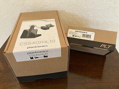 Plantronics CS540/HL10 Wireless Headset System w/APC-43 cord - BRAND NEW