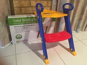Toilet seat trainer, barely use. Bentley Canning Area Preview