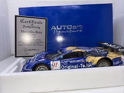 1/12 Auto Art Mercedes-Benz CLK-GTR LeMans FIA GT Maylander Part  # 12011 READ