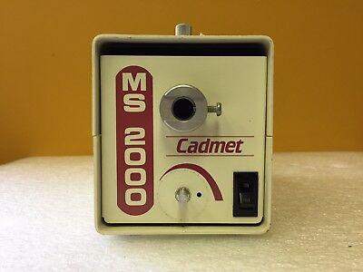 Cadmet Ms-2000 Pn 30040 150 Watt 115 Vac 5060 Hz Fiber Optic Light Source
