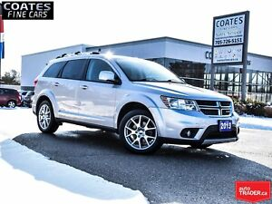 2013 Dodge Journey Crew NEW BRAKES AND TIRES ONLY 106695 KM !!