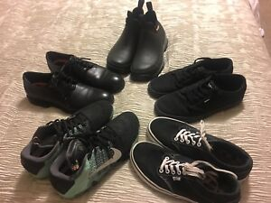 Men's size 8 shoe collection