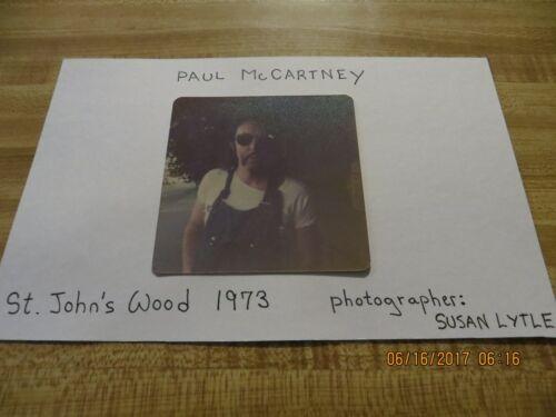 THE BEATLES / PAUL MCCARTNEY / 1973 VINTAGE KODAK SNAPSHOT