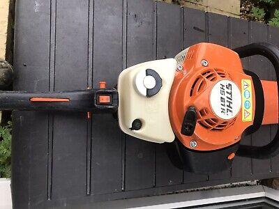 Stihl HS81 R Two Stroke Petrol Hedge Trimmer Garden Cutter.