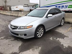 2008 Acura TSX 6 speed with navi