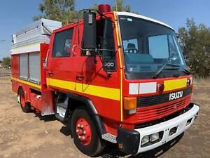 Isuzu FSR500 4x2 Dualcab/Crewcab Firetruck.Low kms,fully operational Inverell Inverell Area Preview