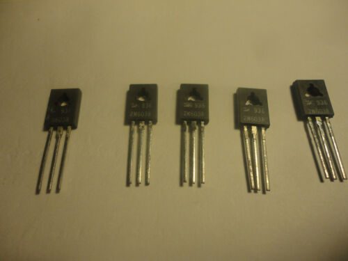 5PCS 2N6038 NPN 60V 4A DARLINGTON TRANSISTOR