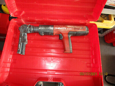 Hilti Dx 351mx Powder Actuated Gun Tool Kit Wcase Working Fast Shipping 875