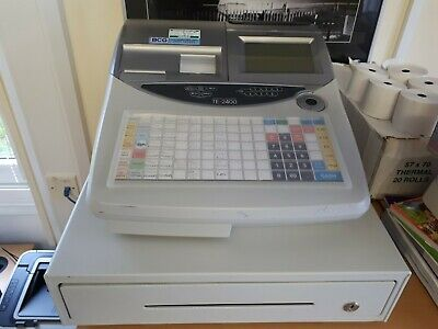 Casio TE2400 Cash Register Used Restaurant Fast Food Till EPOS for sale  Exeter