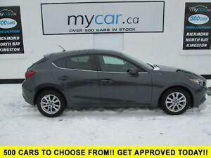 2015 Mazda Mazda3 GS SUNROOF, HEATED SEATS, BACKUPCAM, BLUETO...