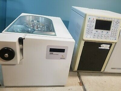 Varian 1200 Triple Quadrupole Gcmsms With Varian Cp-3800 Gc Plus Vacuum Pump