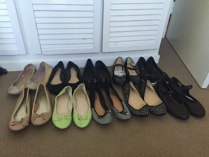 Shoes flats size 10 - 11 used and new  Birkdale Redland Area Preview