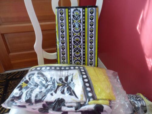 Vera Bradley Fanfare beach towel and market tote set set NWT