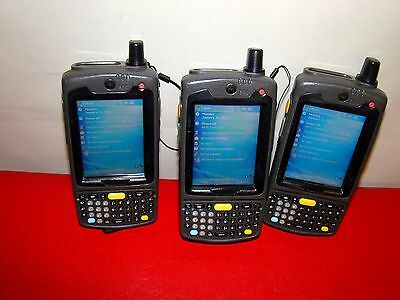 Lot Of 3 Motorola Symbol Pocket Barcode Scanner Mc70 Mc7094 - P2cdcqha86r