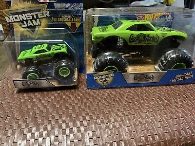Hot Wheels Monster Jam GAS MONKEY GARAGE 1:24 & 1:64 Monster Trucks 2017 NIB