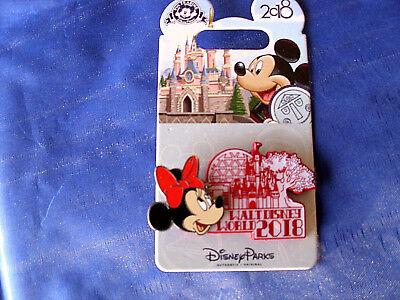 Disney * WDW DATED 2018 - MINNIE * New on Card Trading Pin comprar usado  Enviando para Brazil