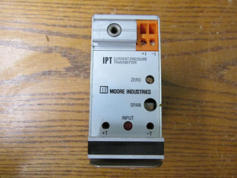 NEW NOS Moore IPT/4-20MA/3-12PSIG/20PSI/-FA3 Current/Pressure Transmitter
