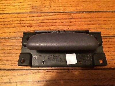 98-01 DODGE RAM GLOVE BOX HANDLE LATCH DOOR TRUCK PICKUP 1500 2500 3500 MED. GRY