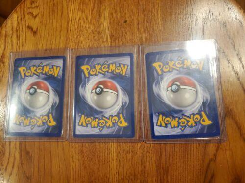 Pokemon Jungle Set 9 Holo, 1st Editions, Set Cards Description  - $250.00