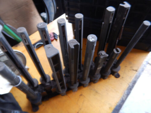 RACK OF SUNNEN HONE MANDRELS SPINDLES LOT A MACHINIST TOOLING