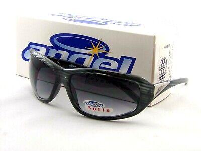 NEW Angel Eyewear SOFIA Sunglasses Gray Demi Frames by Gargoyles MSRP $75 Gargoyles Eyewear Sunglasses