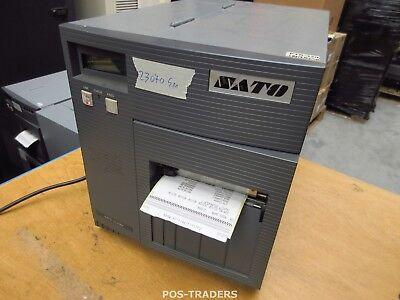 """SATO CL408E Parallel Thermo Label Drucker REWINDER 203dpi 4.1"""" 104mm - 23070.5 M"""