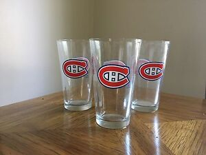 Montreal Canadians Pint Glasses