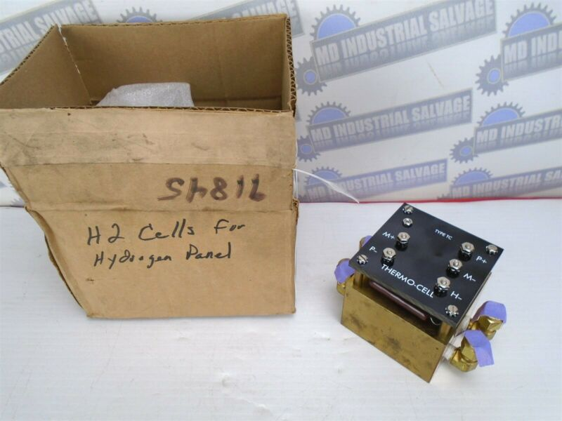 THERMO-CELL H2 BLOCK for HYDROGEN PANEL Type TC - (NEW in BOX)